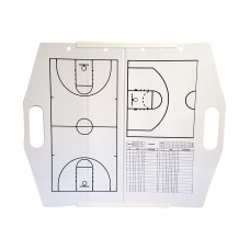 Hey You! Signs Portable Collapsible Dry Erase Board - Basketball