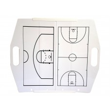 Hey You! Signs Portable Collapsible Dry Erase Board - Basketball (v2)