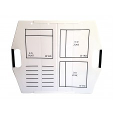 Hey You! Signs Portable Collapsible Dry Erase Board - Football