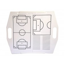 Hey You! Signs Portable Collapsible Dry Erase Board - Soccer